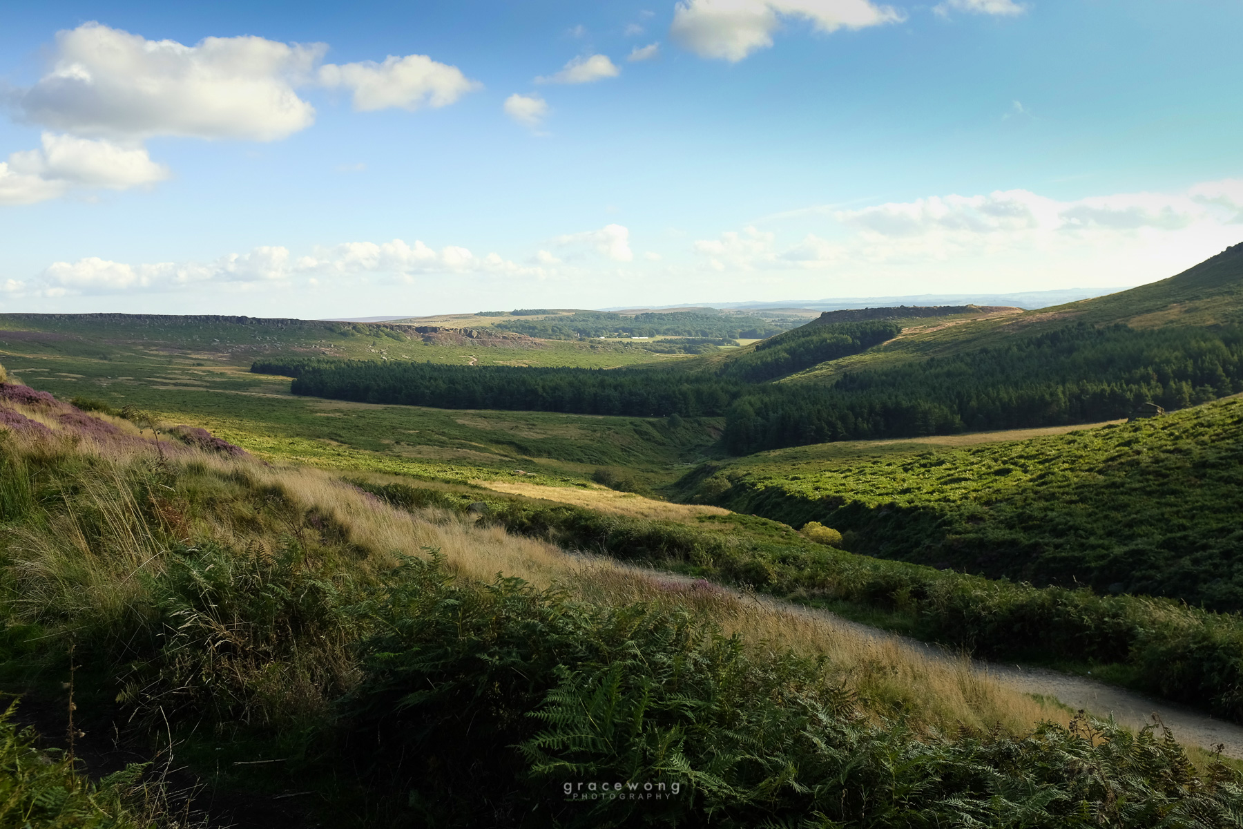 Burbage Edge Derbyshire Peak District